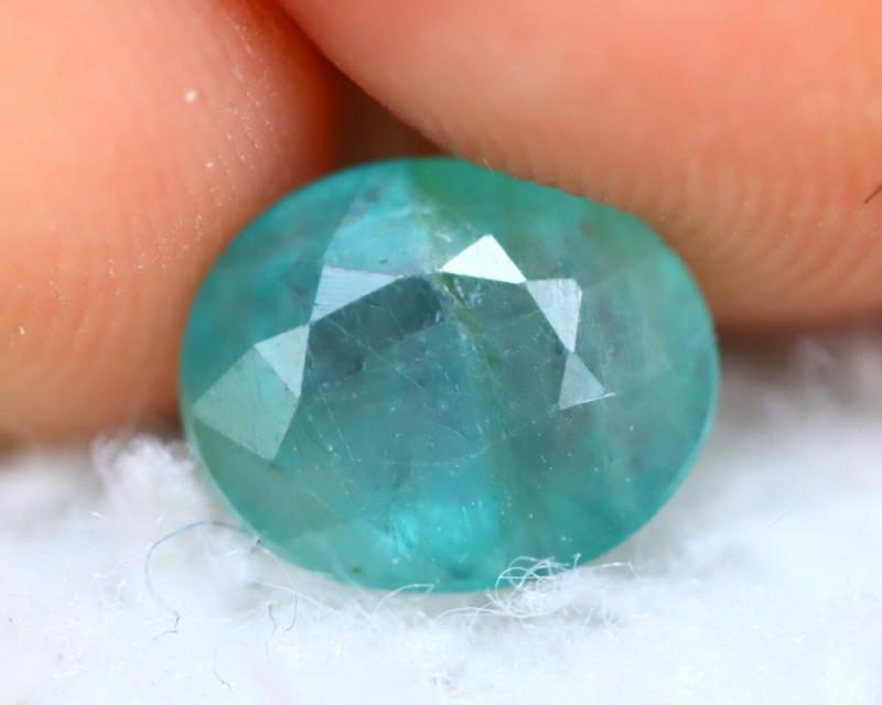 Grandidierite 1.14Ct Natural World Rare Gemstone E3018