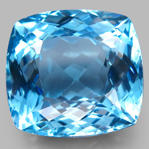 33.36 ct. Natural Top Quality Sky Blue Topaz Brazil - IGE Сertified