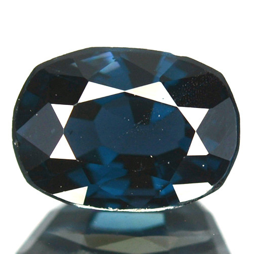 1.18 Cts Natural Deep Blue Spinel Oval Cut Sri Lanka
