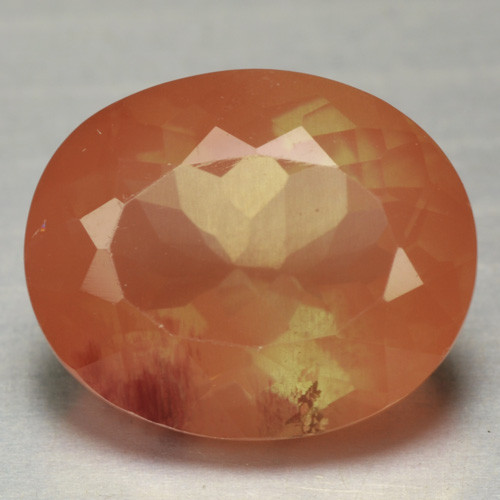 3.86 Cts Amazing Rare Red Andesine Natural  Gemstone