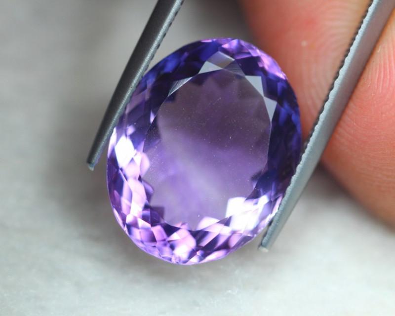 9.16ct Natural Purple Amethyst Oval Cut Lot V7282
