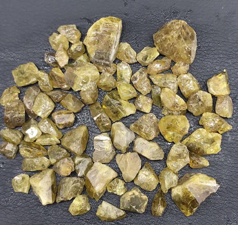 750 Carats  Natural Rough Sphene Parcel