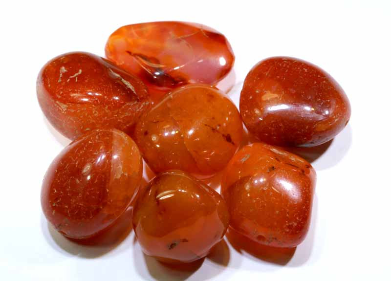 Carnelian onyx beads