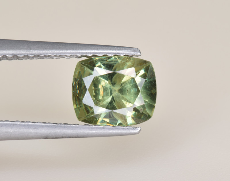 Natural Demantoid Garnet 1.19 Cts, Full Sparkle Faceted Gemstone