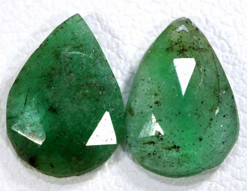 1.70 CTS  EMERALD PAIR  BG-191