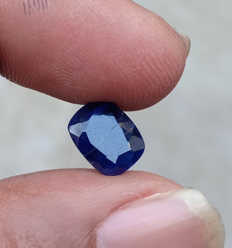 SAPPHIRE BLUE FACETED GEMSTONE GENUINE VA218