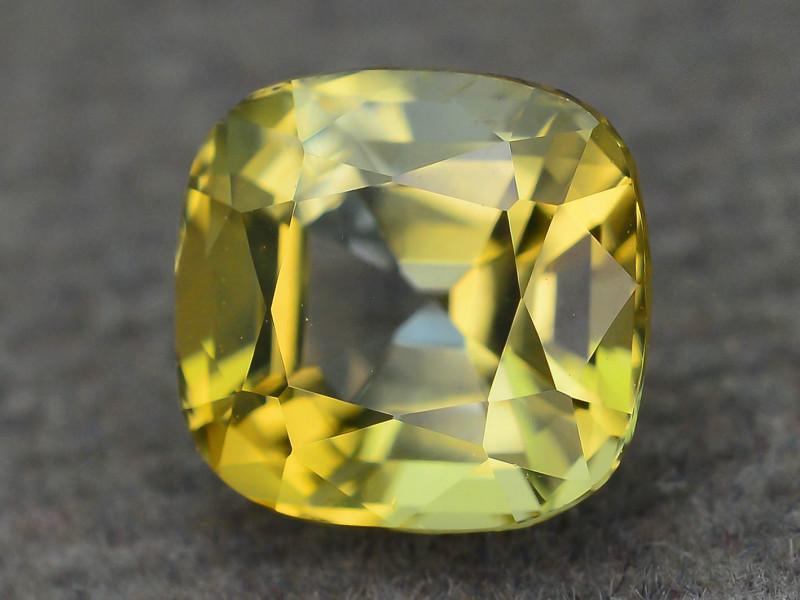 Rare Yellow Tanzanite 1.52 ct Unheated AAA Quality SKU.23