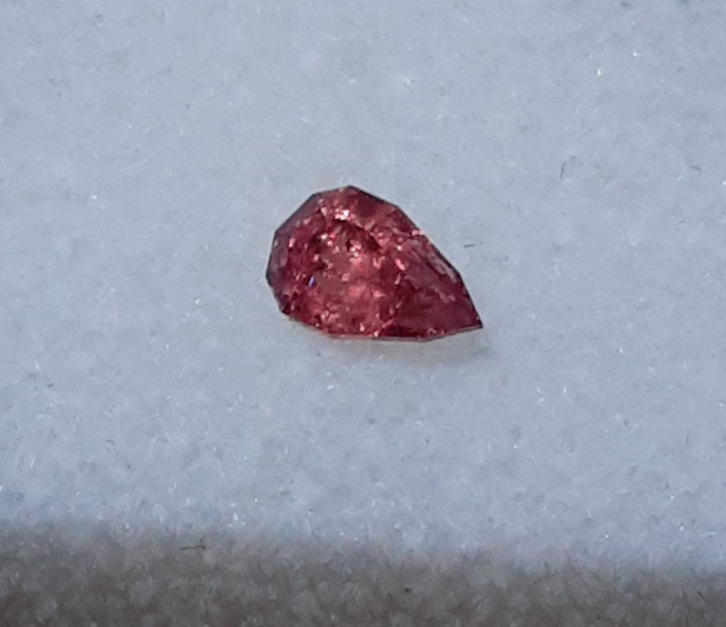 certified .330 ct umba valley tanzania african red sapphire