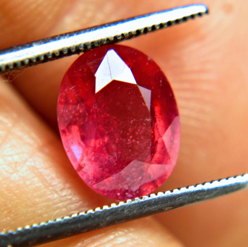 5.08 Carat Fiery Red Ruby - Gorgeous