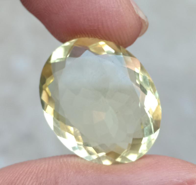 19.50 CT LEMON QUARTZ Top Quality Gemstone Natural Untreated VA269