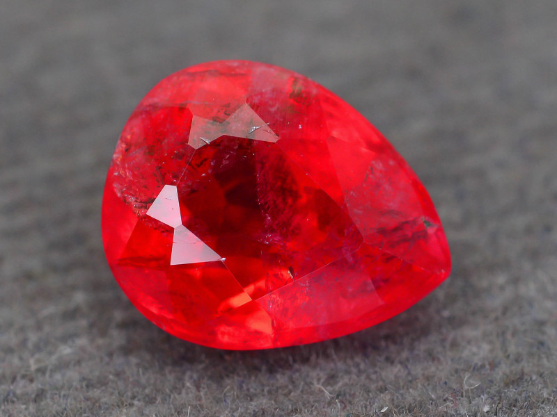Rare Rhodonite 2.64 ct Great Rasberry Color Africa SKU 4