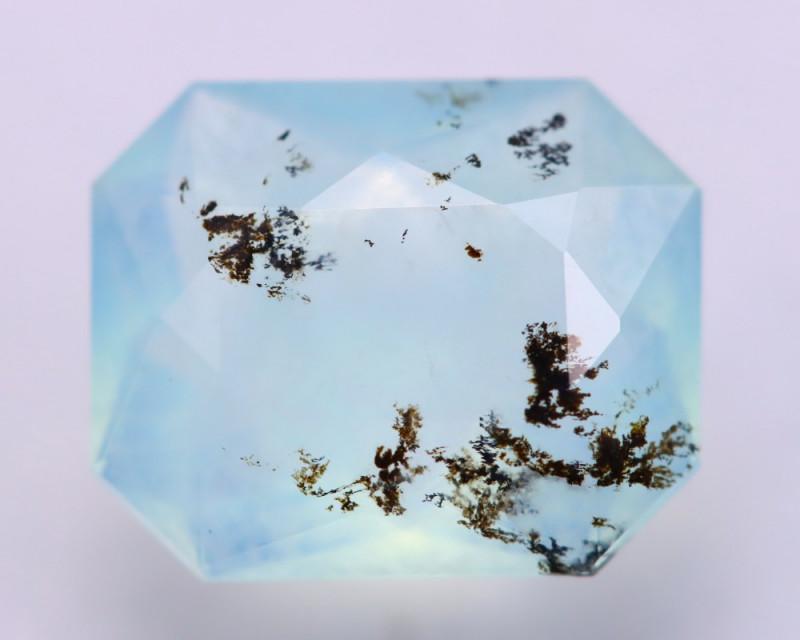 Dendrite Opal 2.15Ct Natural Peruvian Paraiba Color Opal E0736
