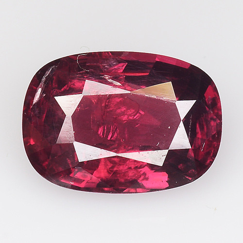 1.43 Ct Natural Pure Red Spinel Sparkiling Luster Gemstone. SPR 16