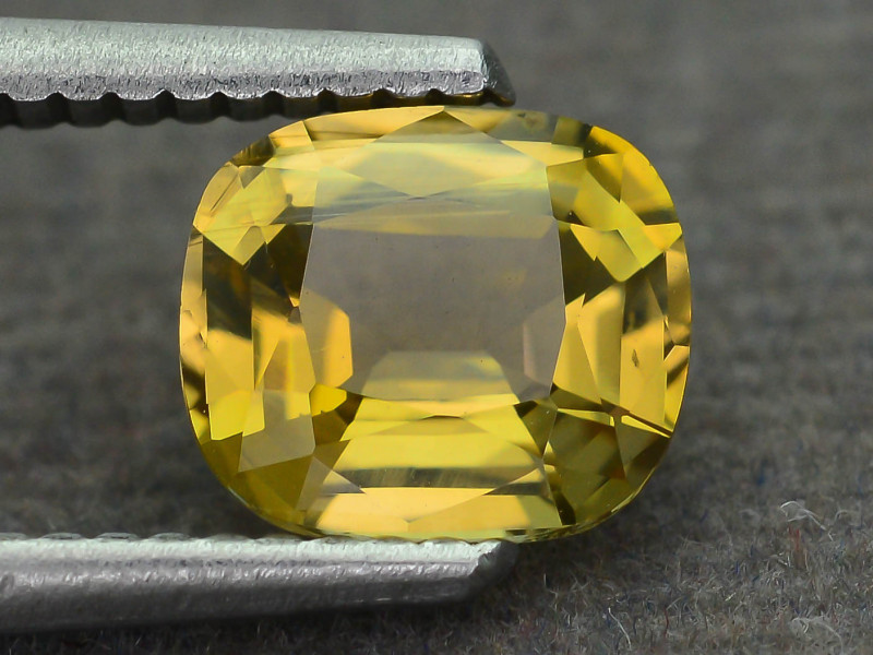 Yellow Tanzanite 1.59 ct aka Zoisite Very Rare Color SKU.23