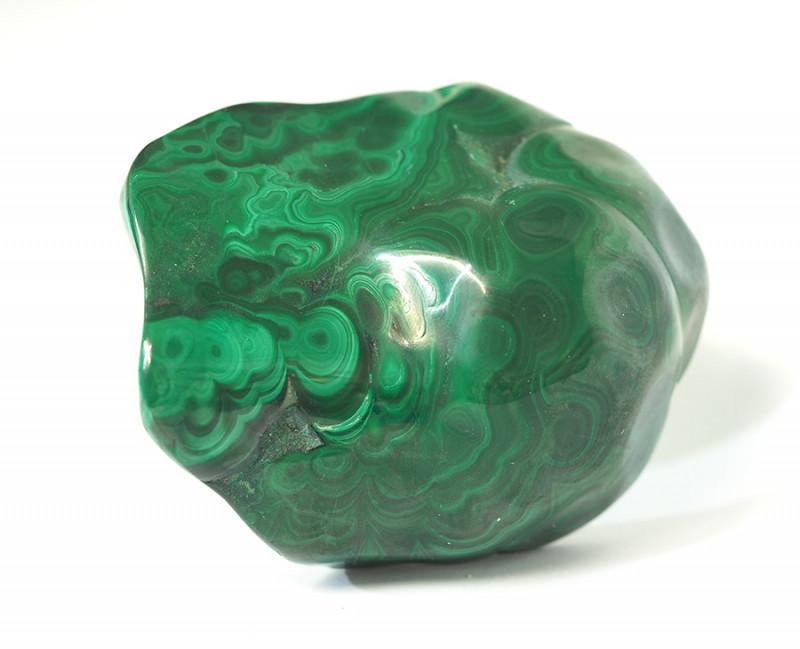 1250 Cts Polished Malachite Gemstone Specimen CF 283