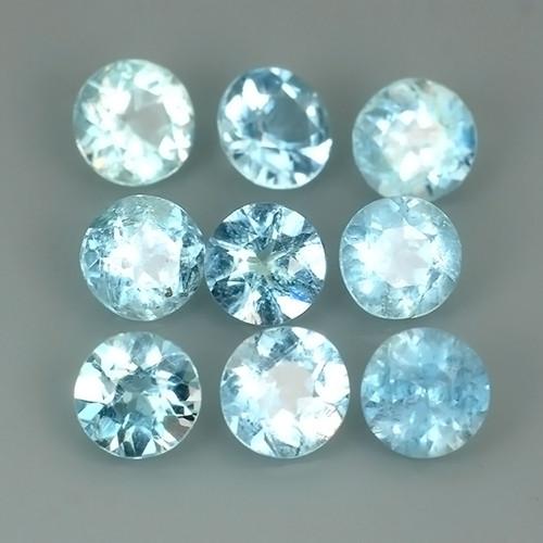 1.80 CTS AQUA MARINE BLUE NATURAL ROUND PARCEL