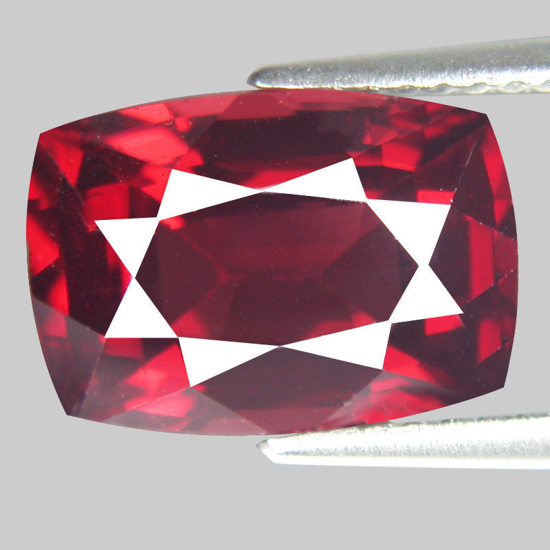 5.00 Ct. Natural Top Red Rhodolite Garnet Africa – IGE Certificate