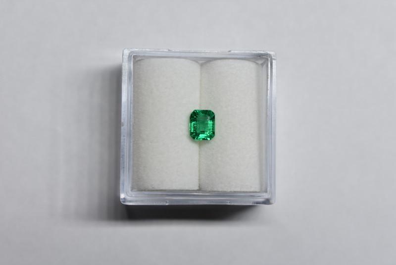 0.45 Carat Vivid Green Panjshir Emerald
