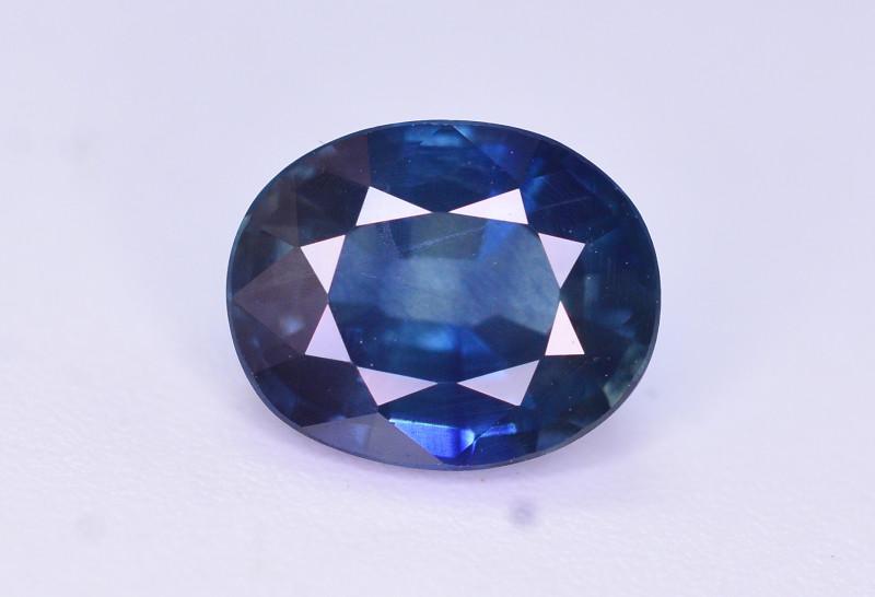 Amazing Color 1.55 Ct Natural Royal Blue Sapphire. RAH