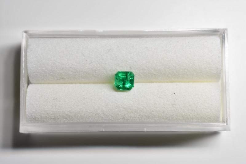 0.55 Carat Vivid Green AFGHAN (Panjshir) Emerald!
