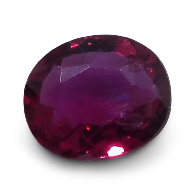 0.31 ct  Oval Ruby