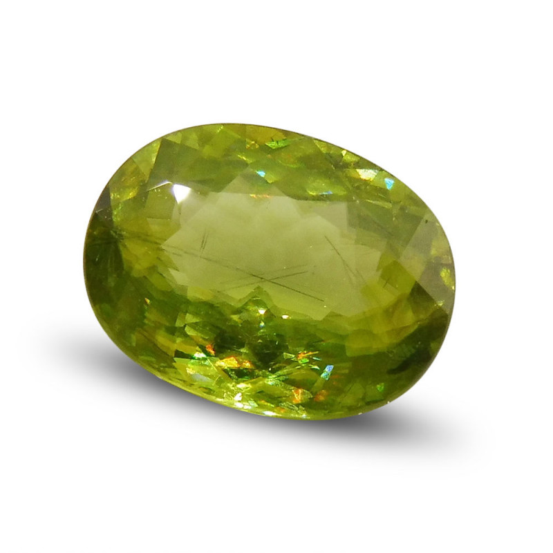 3.04 ct Oval Sphene