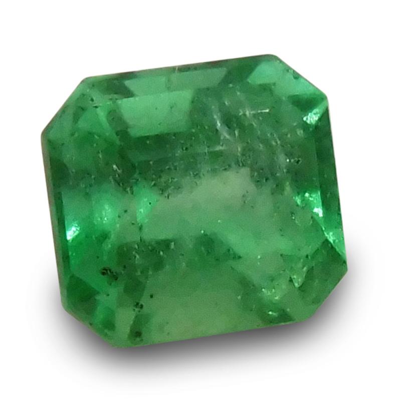 0.69 ct Emerald Cut Emerald