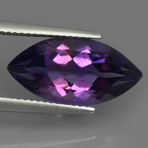 5.60 CTS  NATURAL ULTRA RARE LUSTER PURPLE AMETHIYST GEM!!