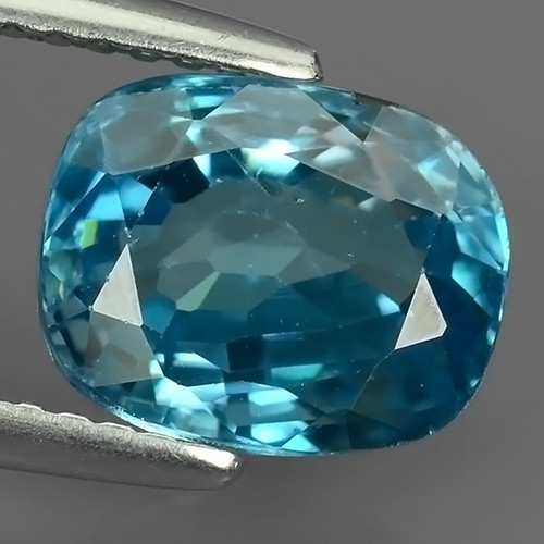 3.95 Cts AWESOME SPARKLE NATURAL RARE BEST BLUE ZIRCON