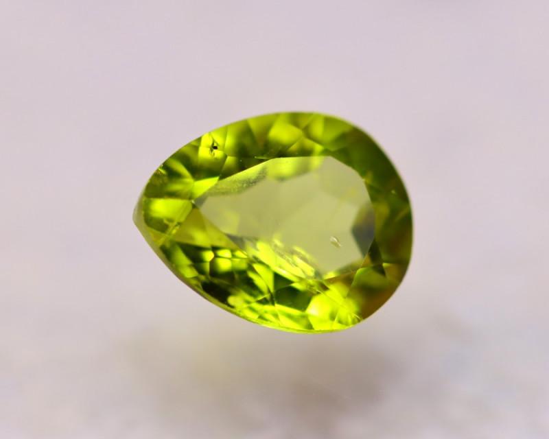 2.37Ct Natural Green Peridot Pear Cut Lot LZ6759