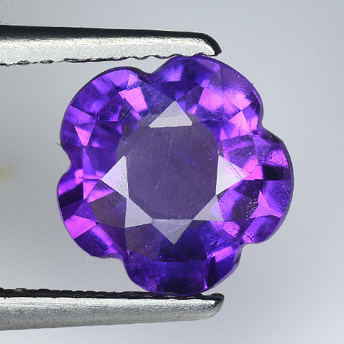 1.84 Ct  Natural Amethyst Top Cutting Top Quality Gemstone. ATF 16