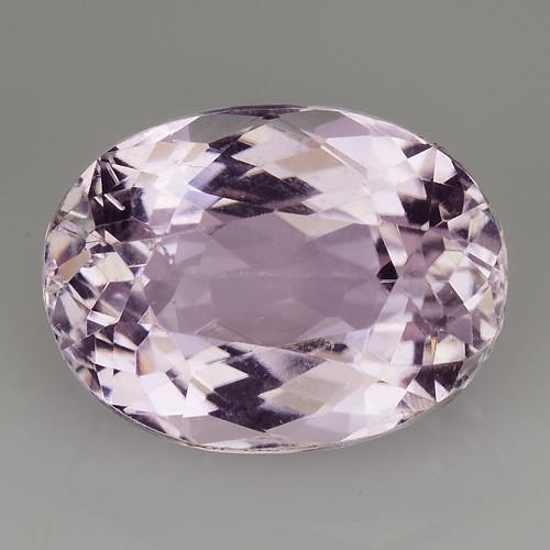 5.15 Natural Kunzite Awesome Color & Cut Gemstone KZ35