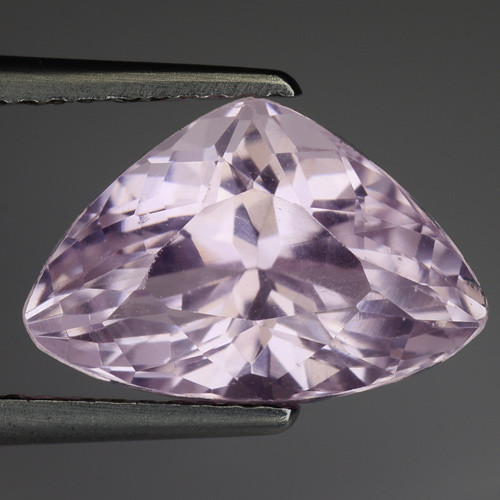 4.80 Natural Kunzite Awesome Color & Cut Gemstone KZ57