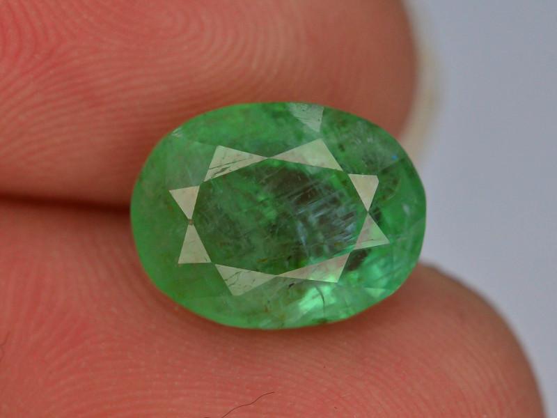 Top Color 3.70 ct Vivid Green Emerald~Afghanistan