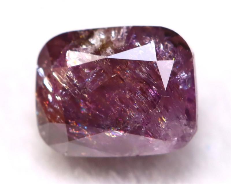 Purple Diamond 0.43Ct Natural Untreated Fancy Purple Diamond A0137