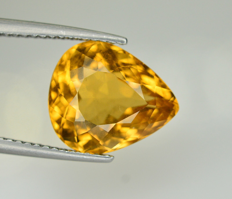 4.25 Ct Natural Heliodor ~ AAA Grade ~ Yellow Color