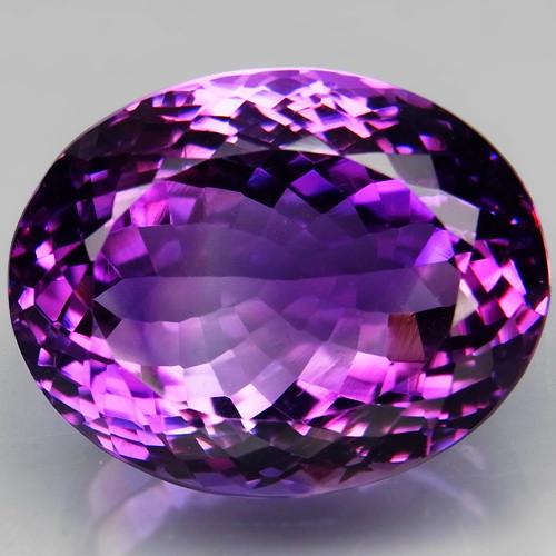 33.06 Ct. Natural Rich Purple Amethyst Uruguay Attractive Unheated