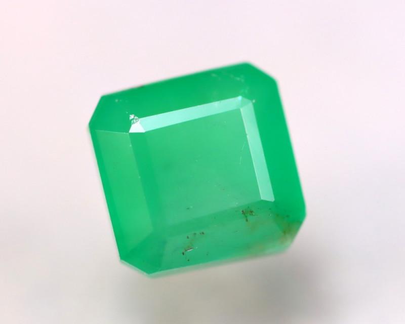 Emerald 3.46Ct Natural Colombia Green Emerald EN30