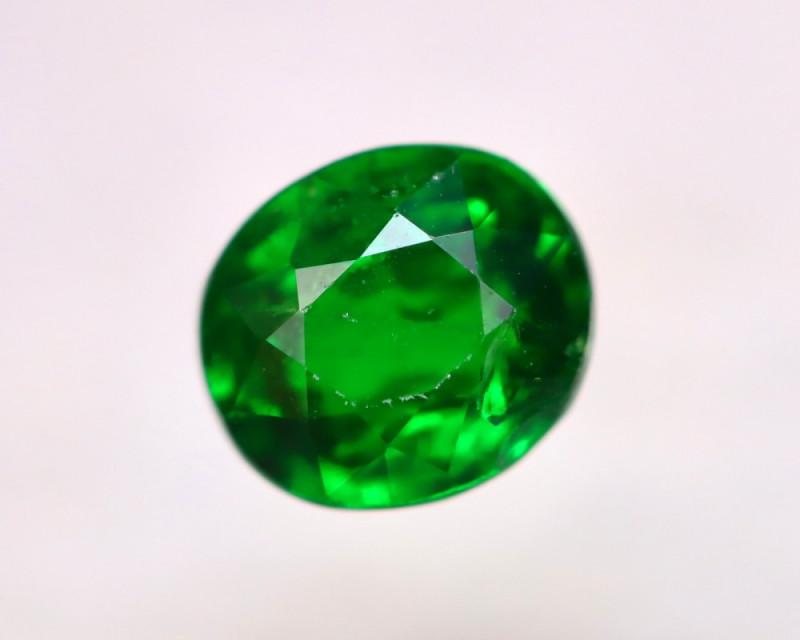 Tsavorite 0.90Ct Natural Intense Vivid Green Color Tsavorite Garnet EN41