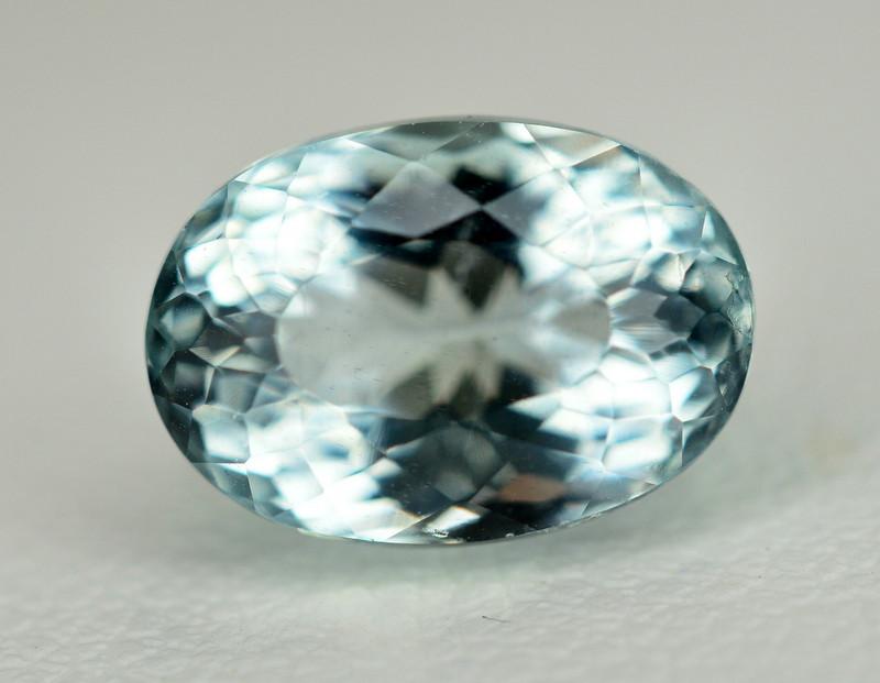 4.25 Ct Natural Aquamarine Gemstone