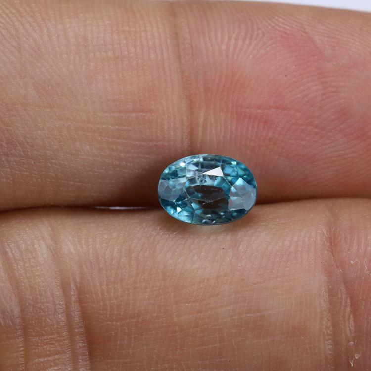 **NR** 2.63ct Natural Blue Cambodian Zircon