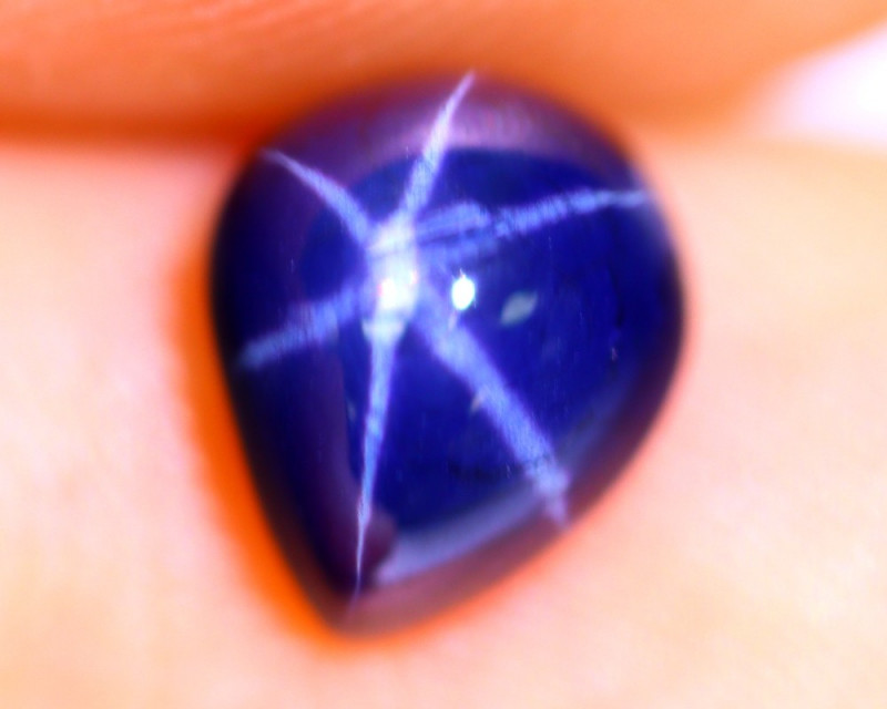 2.05cts Natural 6 Rays Blue Star Sapphire / RD705