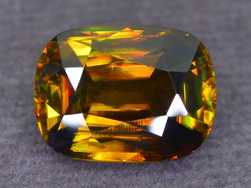 Rare AAA Fire 5.48 ct Sphene Sku-53