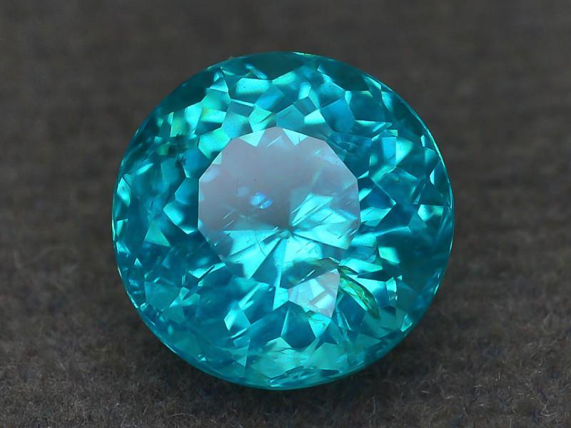 Rare 2.37 ct Amazing Luster Blue Apatite SKU.10