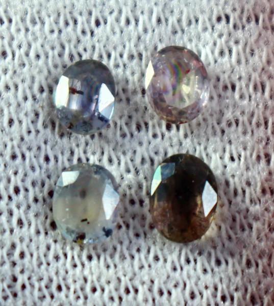 1.90 Cts Beautiful, Superb Multi Color Sapphire Gemstone Lot