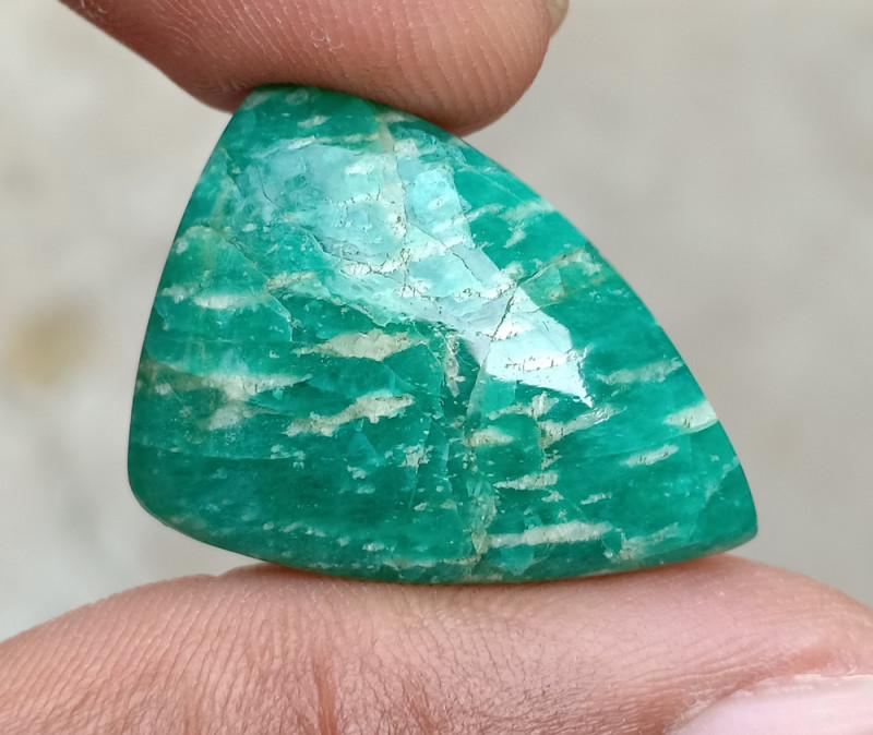BEAUTIFUL AMAZONITE CABOCHON Natural Gemstone VA606