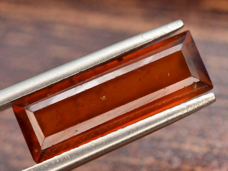 Top Color4.45 ct Natural Hessonite Garnet ~ T