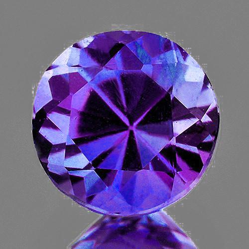 3.70 mm Round 0.25ct Purple Sapphire [VVS]