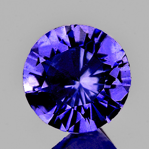 3.50 mm Round 0.20ct Purple Sapphire [VVS]