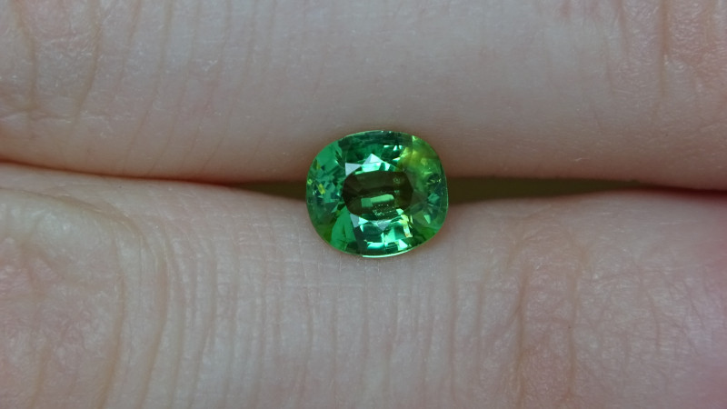 1.15ct SI Glowing Green Tsavorite